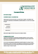 Cremation Wishes Download